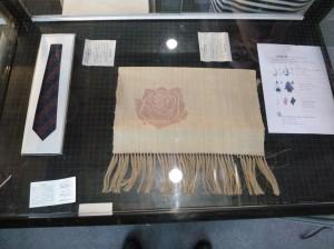 結城紬展示