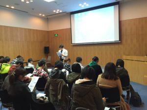 在上海日本総領事館訪問